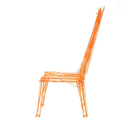 Drawing series chair#4 - Caption